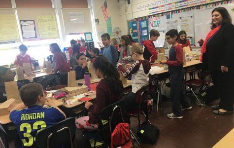Students love Valentine's Day