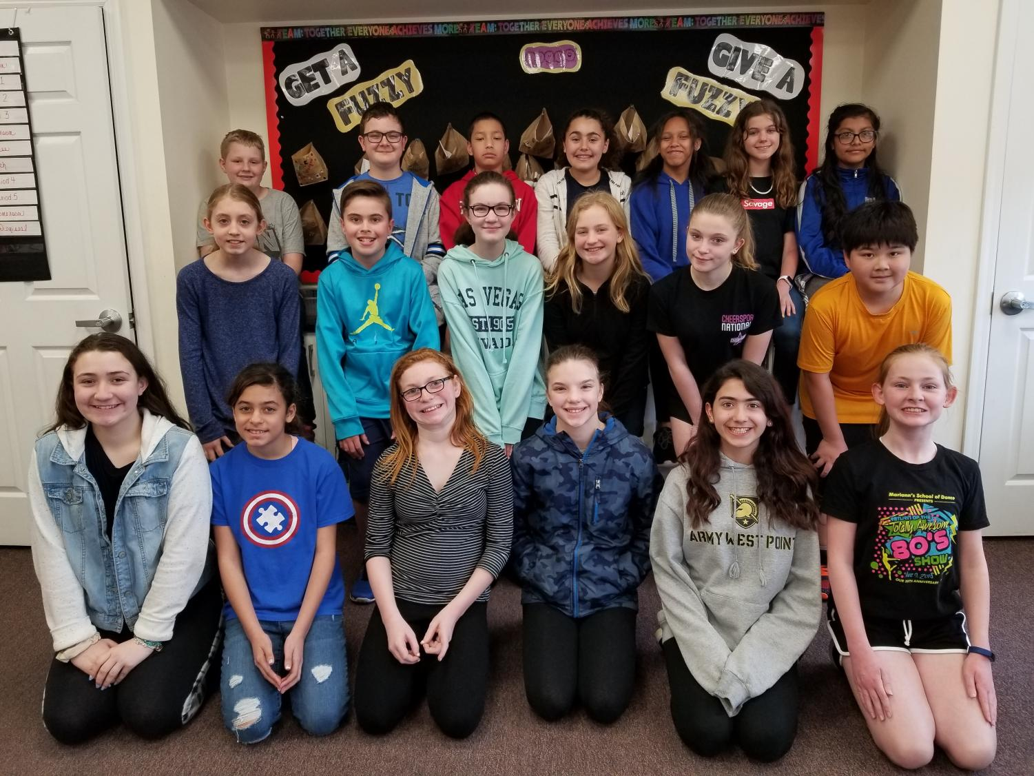 The sixth grade staff of The Villano View comprise writers, editors and photographers.  The afterschool club meets every other Friday throughout the school year.