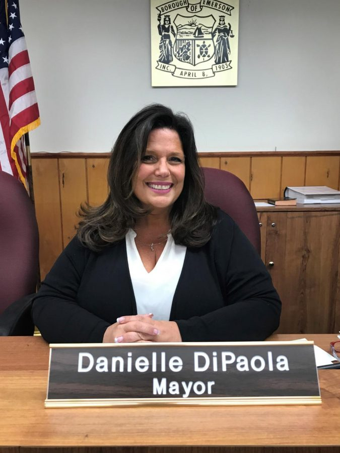 Mayor+Danielle+DiPaola+has+lived+in+Emerson+her+entire+life.+She+attended+Linwood+Elementary+School%2C+which+is+now+called+Patrick+M.+Villano+Elementary+School.