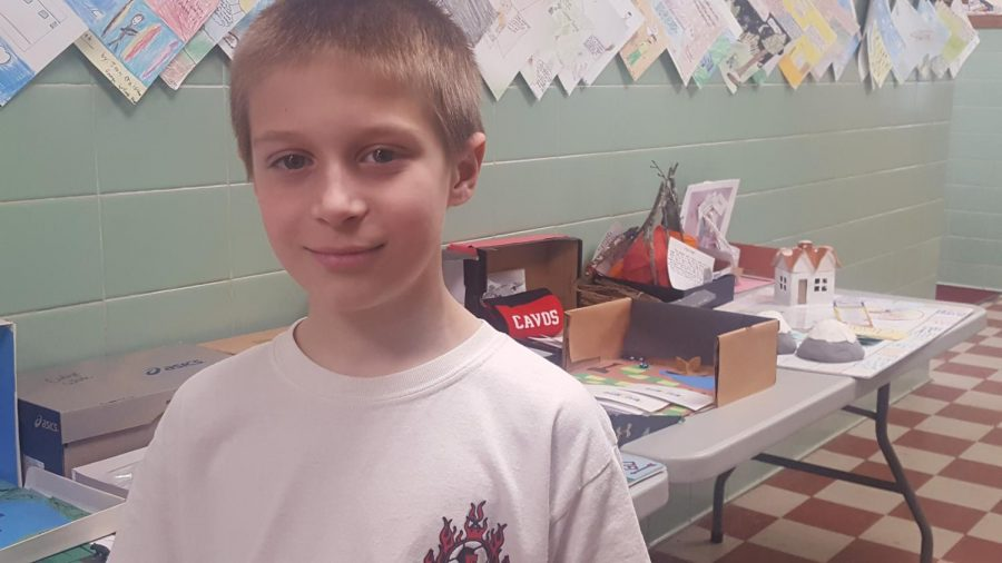 Ryan Vieni, a sixth-grader at Patrick M. Villano School, earned the title of Citizen of the Month for February. Vieni is very thankful for the honor.