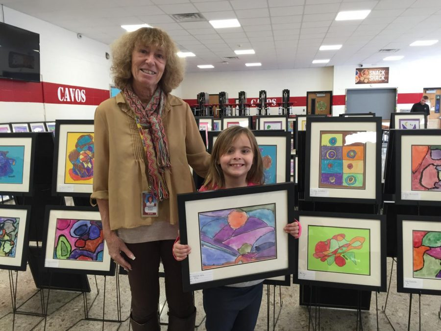 Elementary+art+teacher+Wanda+Lev+has+worked+in+the+Emerson+Public+School+District+for+21+years.+She%27s+loved+art+since+she+was+a+kid+herself.+The+annual+art+show+makes+her+feel+proud.