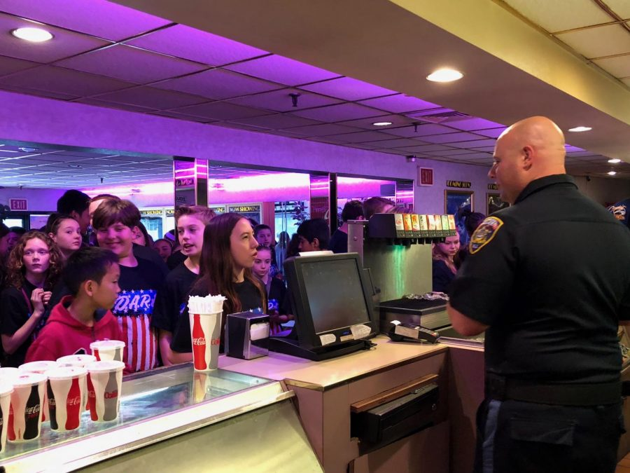 D.A.R.E. officers celebrate with students