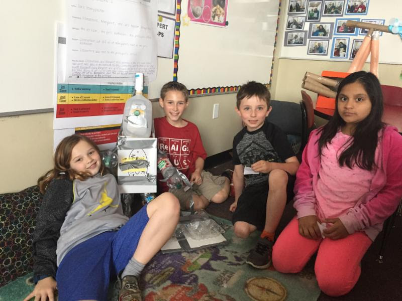 Working to rebuild with recyclables