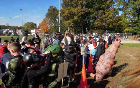 Students enjoy marching in annual Halloween Parade
