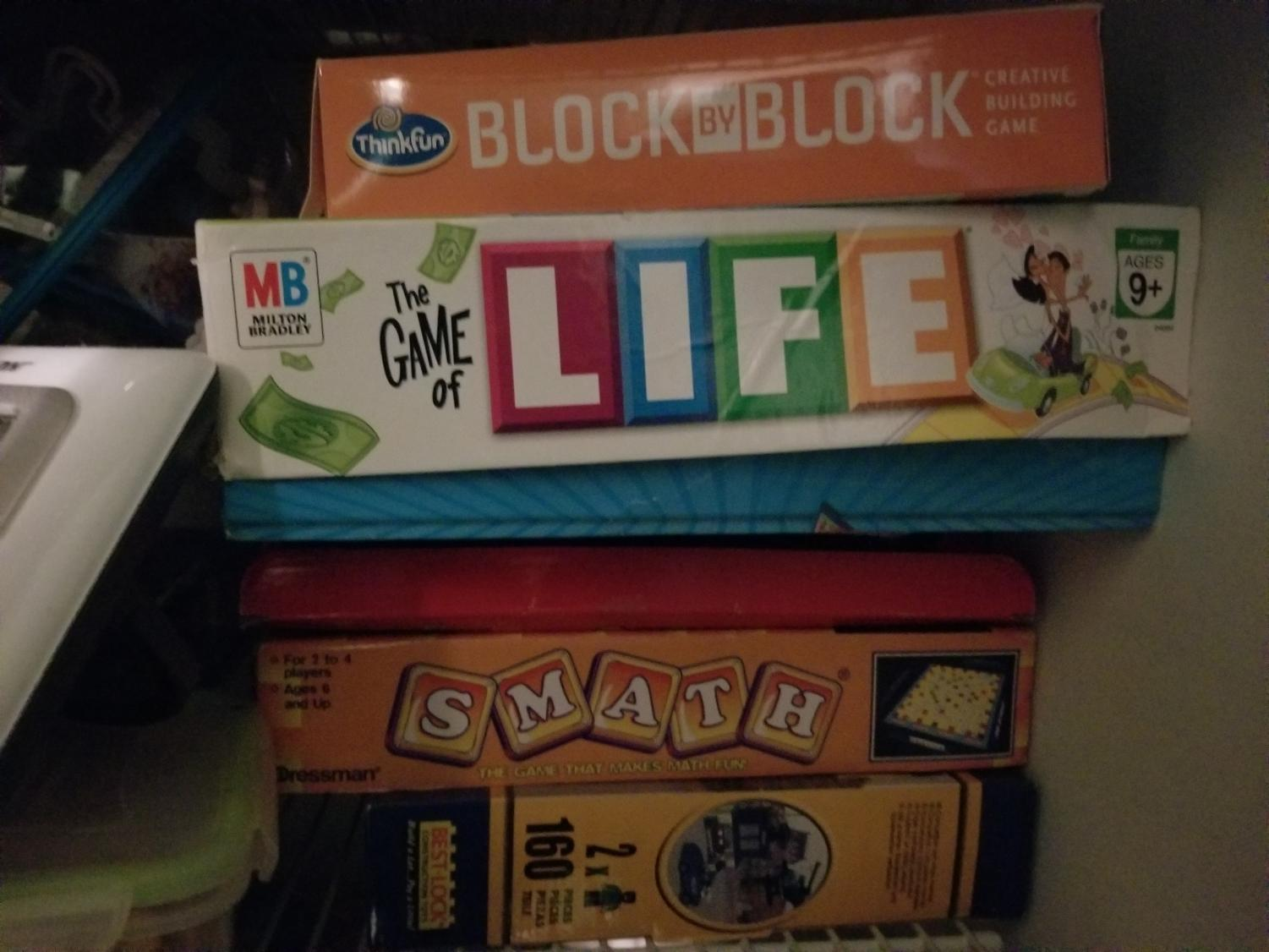 Board games provide loads of fun for the Game On club members. Popular games include Operation, Boggle and Trivial Pursuit. These are games of skill that students enjoy.