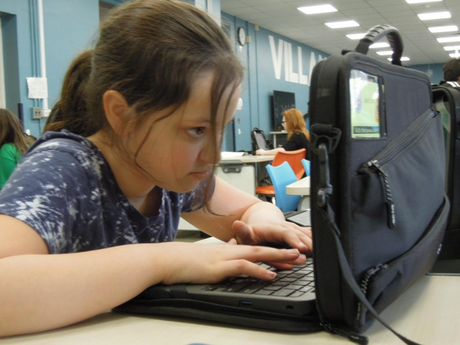 Students+in+grades+four+through+six+use+a+school-issued+laptop+during+classtime.+They+are+also+permitted+to+take+the+laptop+home+for+academic+use.