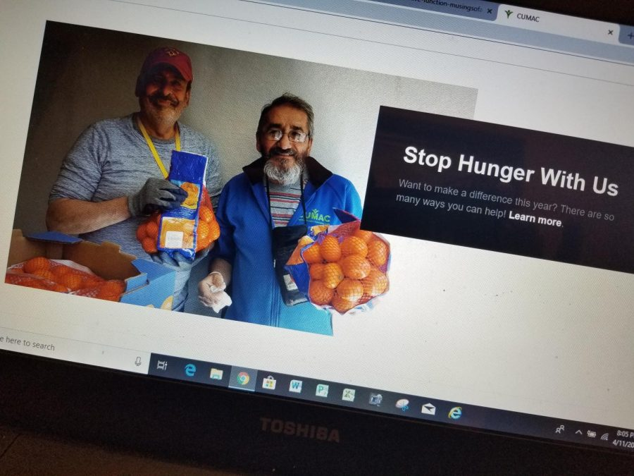 CUMAC's webpage talks about holding food drives or collections for those in need. The pantry, located in Paterson, accepts canned and boxed goods year round.
