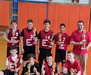 First time a charm for sixth grade boys' basketball team