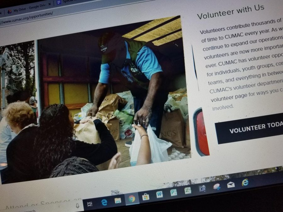 CUMAC's webpage says it always needs volunteers. Some people drive the donation trucks to the food pantry located in Paterson, NJ.