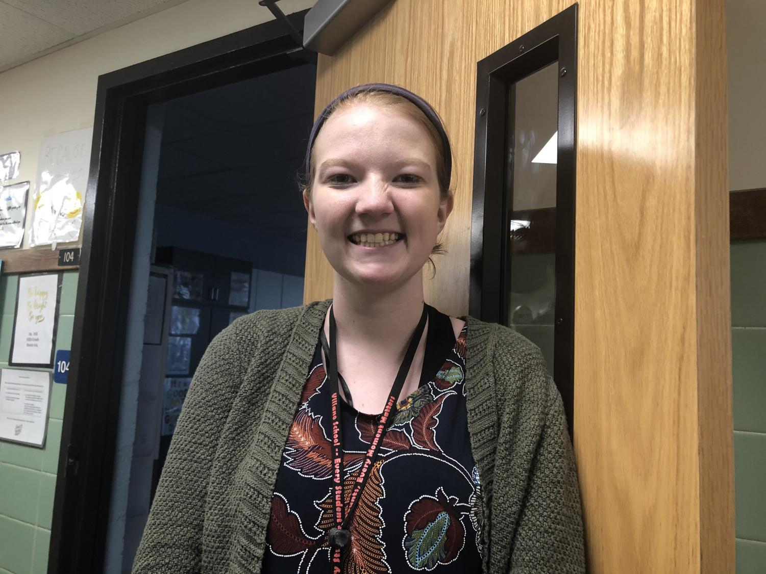 Erin Albin joined the staff of Patrick M. Villano School this year. She teaches Language Arts and Math.