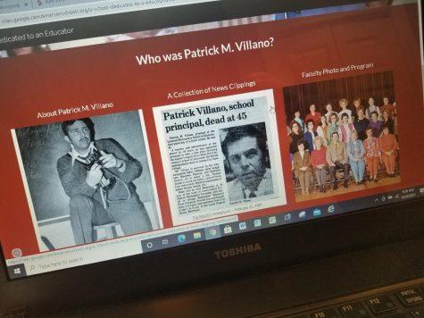 Remembering former principal Patrick M. Villano