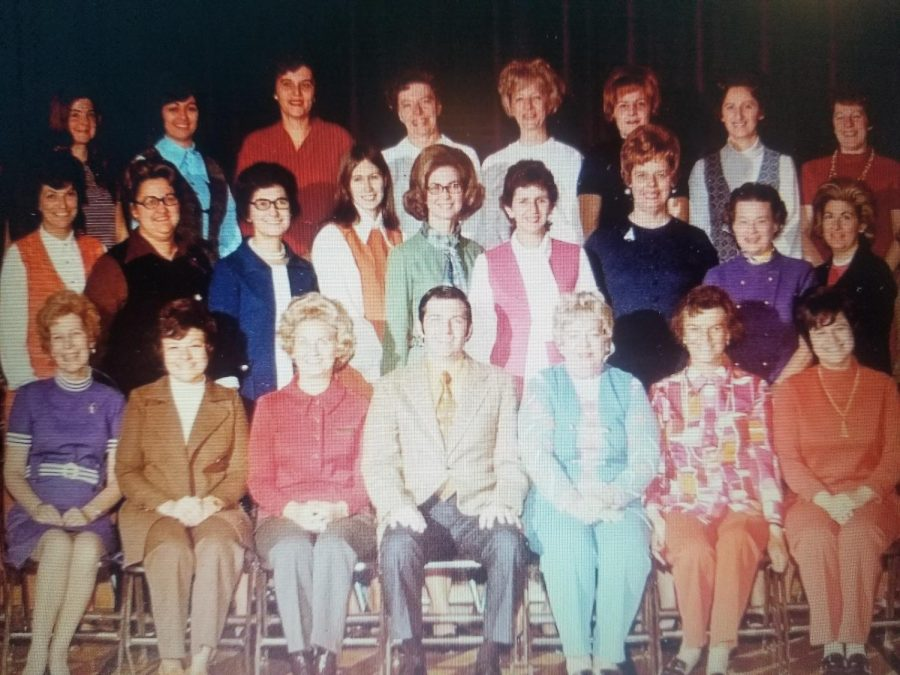 Patrick M. Villano is seen here front and center in a faculty photo.